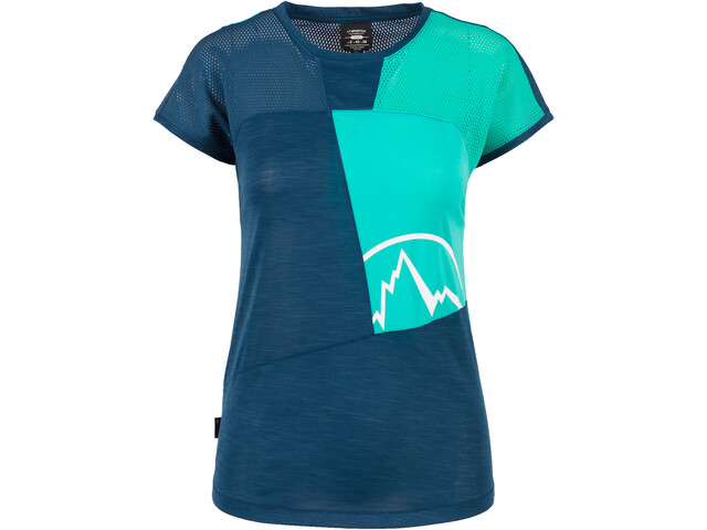 La Sportiva Push Camiseta Mujer, opal/aqua